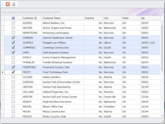 DSStudio Checkbox Select
