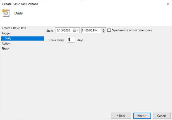 Windows Task Scheduler Page 3