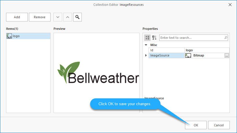 DSStudio Image Resource Screen