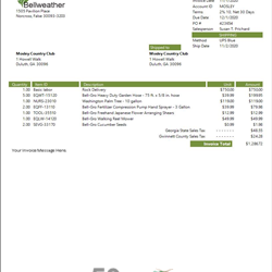 Sage 50 Simple Sales Invoices