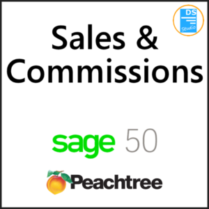 Sales and Commissions
