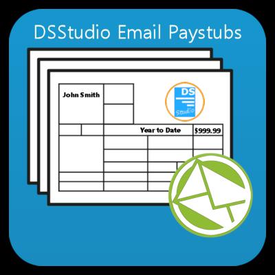 Sage 50 Email Pay Stubs - DSStudio