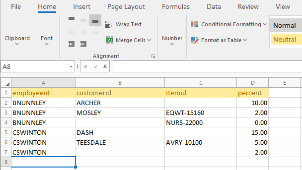Sage 50 Sales Commission Report With Excel Rule Sheet