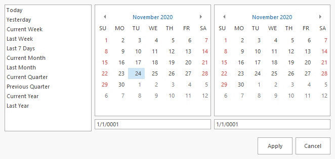 DSStudio Date Range Picker #2